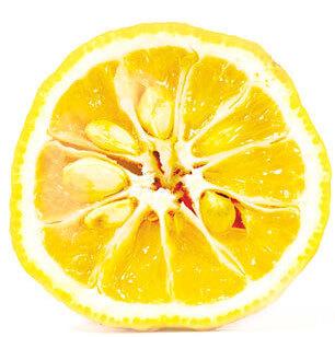 日本由来の原材料 柚子 を使用