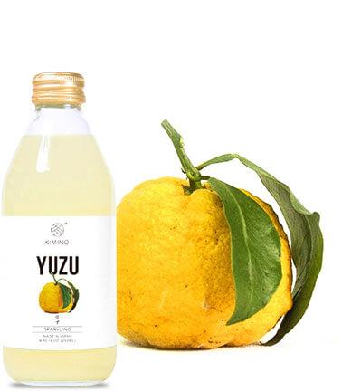 """日本生まれのクラフトジューズブランド """"KIMINO""""が作ったスパークリング柚子ドリンク"""