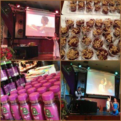 キャロル・ハルヨ presents 出版記念イベントinお台場 キャロル・ハルヨのSexy&Fit Body フラスタイル体幹&骨盤ダイエット -3.3.2013