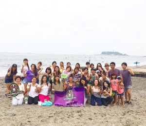 Beach clean-up&YOGA with Tamao @七里ケ浜
