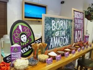 Breakfast bowl event @SAMBAZON AÇAÍ CAFE