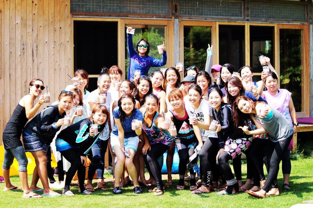 ROXY FITNESS Vo.3のRUN SUP YOGAイベント